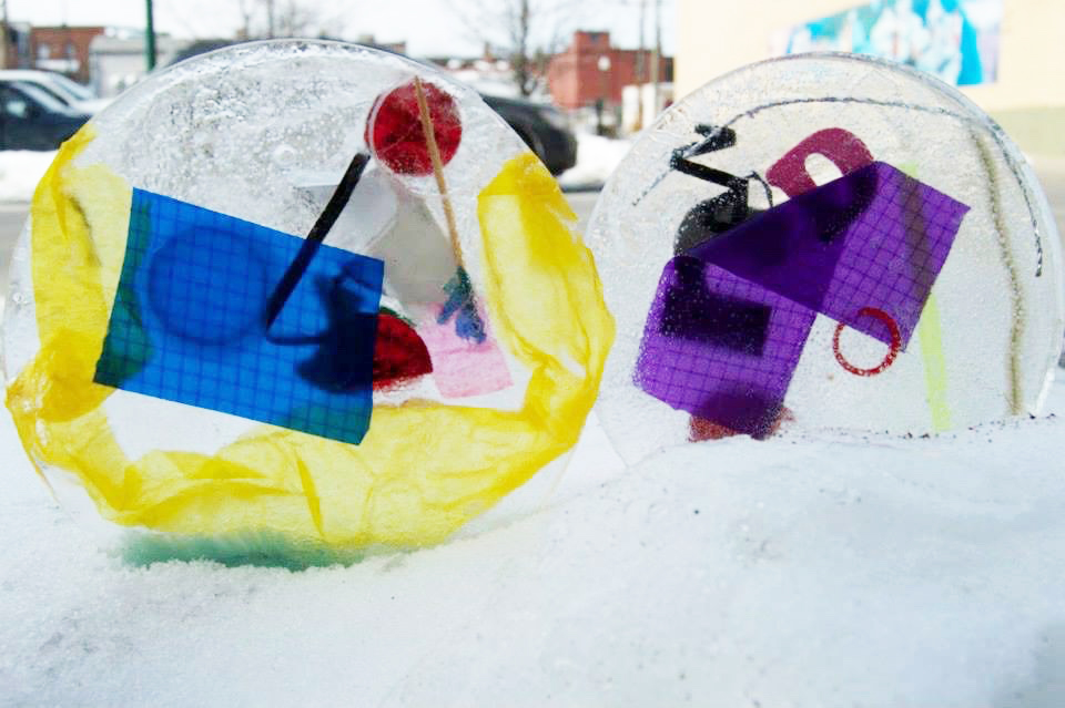 Winter Sculptures